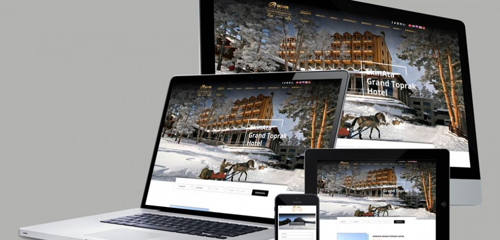 Ekinata Grand Toprak Hotel Web Site Tasarım