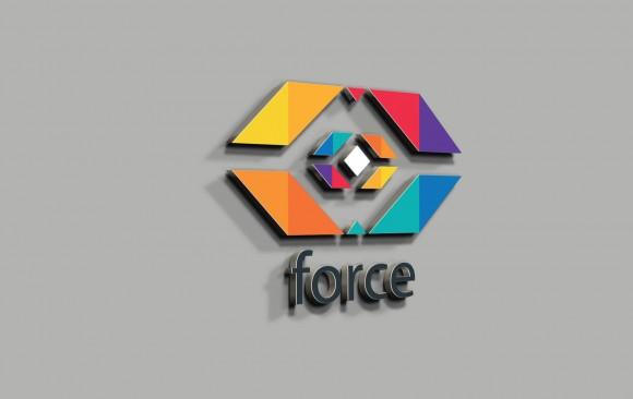 Force Bilişim Logo Tasarımı