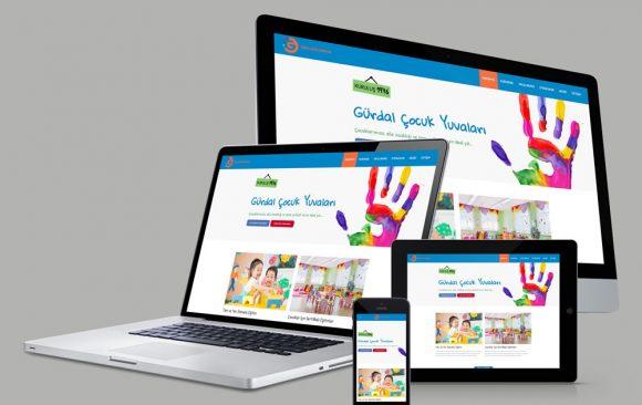 Gürdal Çocuk Yuvaları Web Tasarımı