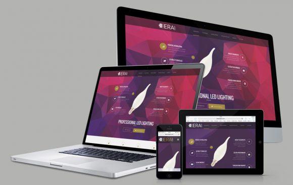 LEDERALIGHT Web Tasarımı