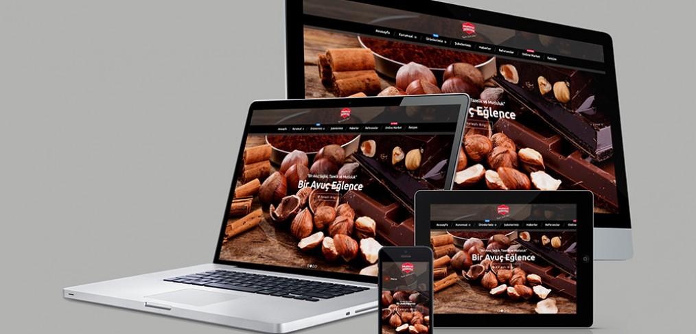 Mumcu Kuruyemiş Web Site Tasarımı