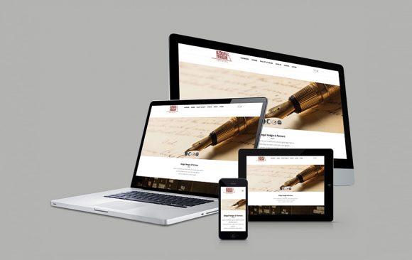 Özoğul Yenigün & Partners Web Tasarımı