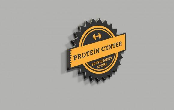 Protein Center Logo Tasarımı