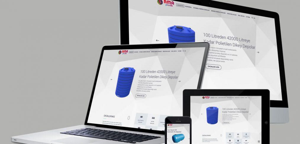 RMA Plastik Web Site Tasarımı