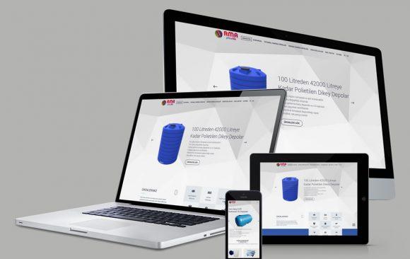 RMA Plastik Web Tasarımı