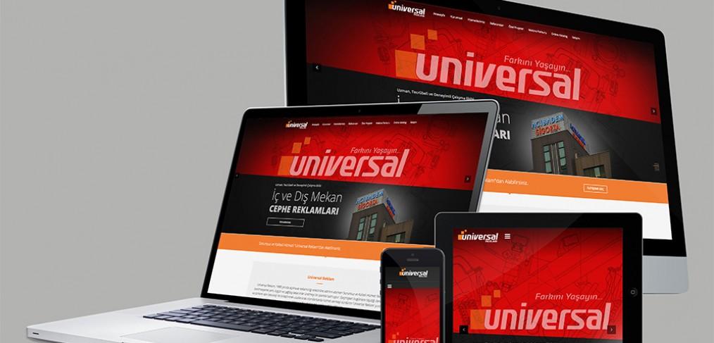 Universal Reklam Web Site Tasarımı