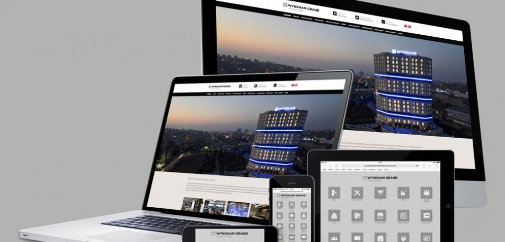 Wyndham Grand İstanbul Europe Web Site Tasarımı